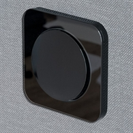 Berker R.1 Black Glossy
