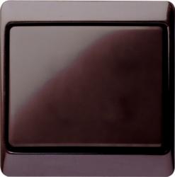 Plastic-brown-glossy